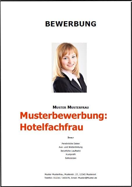 Bewerbung Hotelfachfrau (Bewerbung Download)