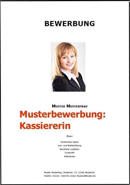 kassiererin bewerbung muster Bewerbung Kassiererin (Bewerbung Download)
