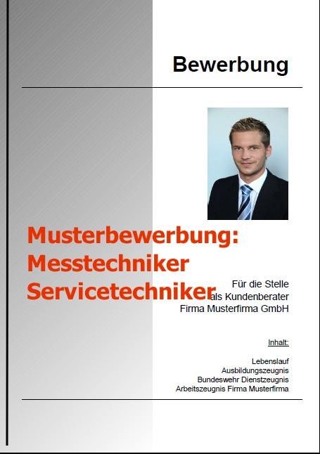 Bewerbung Messtechniker Servicetechniker