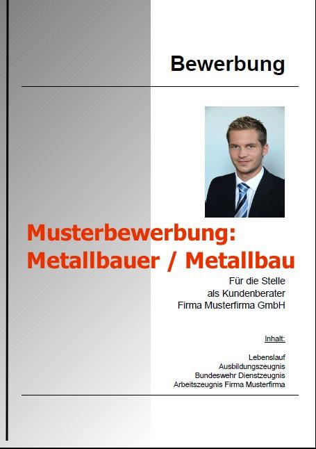 Bewerbung Metallbauer
