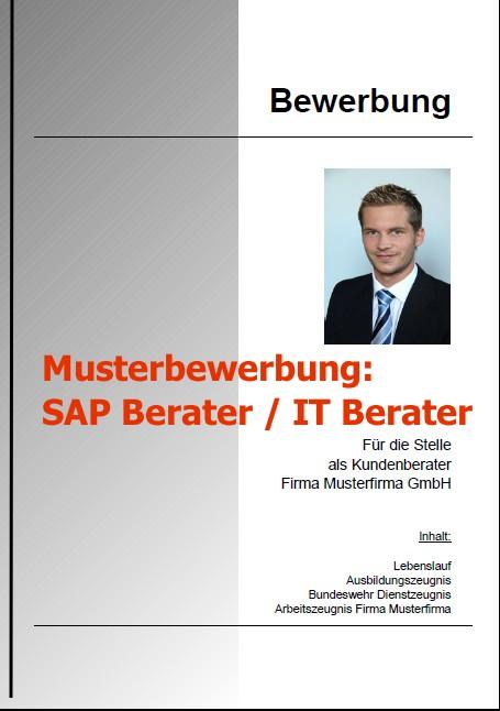 Bewerbung SAP Berater - IT Berater