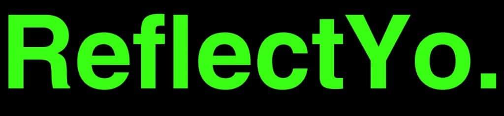 ReflectYo. Logo und link reflectyo für deine Sicherheit
